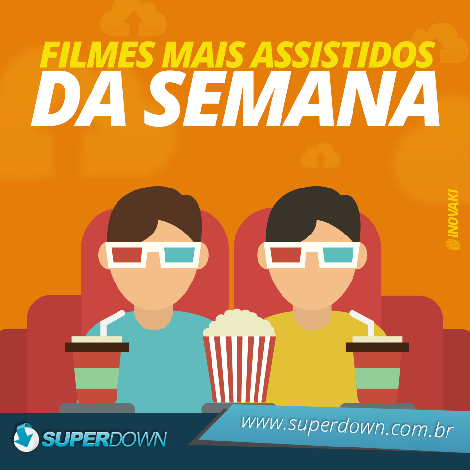 Top Filmes Mais Assistidos da Semana